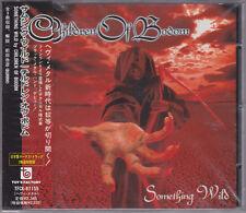CHILDREN OF BODOM 1998 CD -  Something Wild + 2 JAPAN CD Obi - Norther OOP.RARE