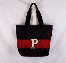 Ralph Lauren Polo Sport Tote Shopper Bag Embellished Black Red Two Handles BP6