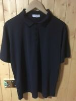 CALVIN KLEIN Golf Men's Navy Polo Shirt Size L