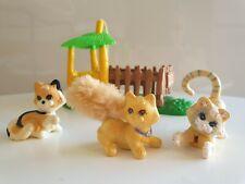 Mes tout petits amis chat Tigre cat animaux Littlest Pet shop Kenner 1993 1994