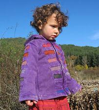 Childrens Hoodie baby Festival coat/Jacket Fleece boho, hippy, psy, ethnic  new