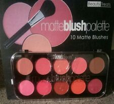 Beauty Treats Matte Blush Palette 10 Matte Blushes