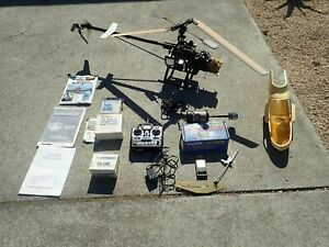 Vintage Hawk RC Helicopter Century Helicopter Products Futaba T6XH Controller