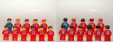Custom LEGO Real Madrid Away Team 11 Players with Name on Jersey #203A