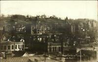 Mankato MN Birdseye View c1910 Real Photo Postcard