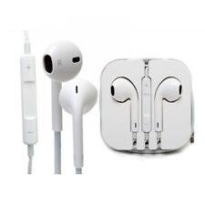 Genuine Apple iPhone Auriculares Blanco 5s 5 6 6s Manos Libres Micrófono MD827 C