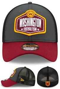 Washington Football Team New Era 39Thirty Mesh Burgundy Flex Fitted Hat Cap M/L