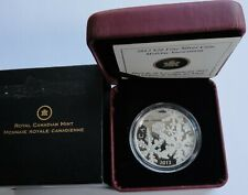 CANADA $20 DOLLARS 2012 - HOLIDAY SNOWSTORM SWAROVSKI SILVER PROOF