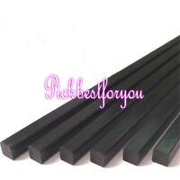 2pcs 5 x 5 x 500mm Carbon fiber Solid Square Rod for RC Airplanes #Mm03 QL
