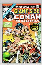 GIANT-SIZE CONAN THE BARBARIAN #3 MARVEL COMICS 1975 VF- R.E. HOWARD KANE SUTTON