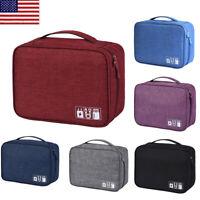 Portable Travel Makeup Train Case Cosmetic Storage Bag Artist Organizer Case OCC