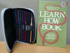 "Coats & Clark's 170-D ""LEARN HOW BOOK"" Knitting, crocheting, tatting & needles"