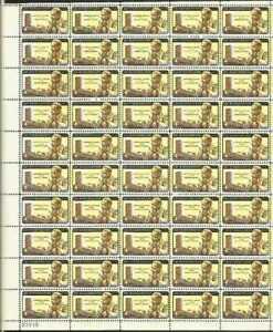 US Stamp 1962 Dag Hammarskjold Yellow Inverted 50 Stamp Sheet Scott #1204