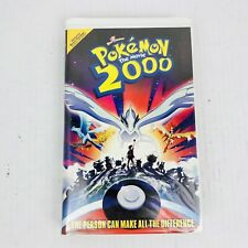 Pokemon The Movie 2000 (Clamshell, VHS, 2000)