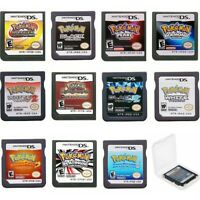 Nintendo DS Game Pokemon Series Video Games Cartridge Cards For DS NDS 2DS 3DS