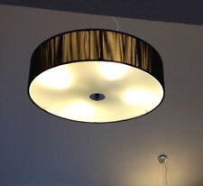 Hängeleuchte s`luce TWINE (Deckenleuchte) 50 cm Durchmesser - Stoff/Glas/Metall