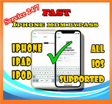IPHONE IPAD MDM UNLOCK Bypass Apple Remote Management Profile Remove iOS 13.5.1