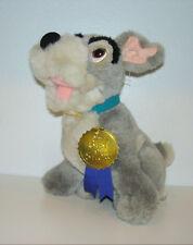 Retired Older Disney Store Lady & The Tramp Best Of Show Plush Dog Tramp