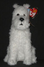 Ty Snowy the Dog Beanie Baby - New - Mint with Mint Tags