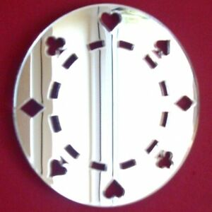 Poker Chip Acrylic Mirror (Several Sizes Available)