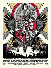 School of Rock Poster - NE - Limited Edition of 175