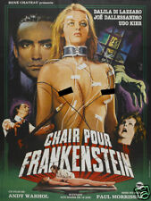 Flesh for Frankenstein Andy Warhol Movie poster print