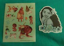 Disney Stickers - Lot of 2 - Moana Characters