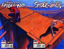 AMAZING SPIDERMAN 15 SPIDER-GWEN 1 COMICXPOSURE MOLINA COLOR VARIANT