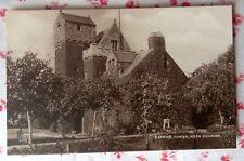 Vintage RPPC Darnick Tower, Near Melrose, Scotland UK Real Photo Postcard