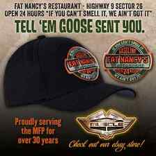FAT NANCY'S DINER MAD MAX CAP - BYO OPEN 24 HOURS - HIGHWAY 9 SECTOR 26