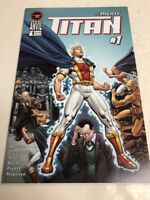 Red Anvil Comics The Mighty Titan # 1 Comic Book Free Shipping