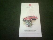 1988 1989 VAUXHALL FINANCE MOBILITY PLAN UK FOLDER BROCHURE Nova Astra Cavalier