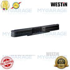 Westin Fey Surestep Rear Bumper - Black Powder Coated Steel 61001