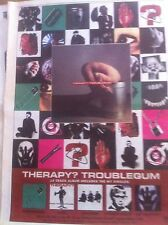 THERAPY - TROUBLEGUM - copy of FULL PAGE ADVERT small poster