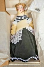 "RARE Franklin Mint Heirloom Dolls ""Renata"" The Vienna Woods Porcelain  HTF  MINT"
