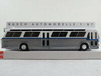 Busch 44511 Amerik. Bus Fishbowl (1959) mit Schilderausstattung 1:87/H0 NEU/OVP