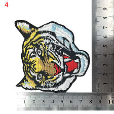 Animal Tiger Embroidered Patches Clothes DIY Appliques Patchwork Iron On Patch B