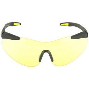 Beretta OCA100020201 Trident Black Frame Shooting Glasses w/Yellow Lens