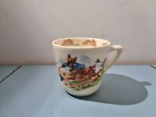 ROYAL DOULTON BUNNYKINS CUP WINDY DAY