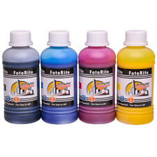 4 x 250ml pigment ink refills for HP OfficeJet Pro 7730, 7740, 8210, 8218, 8710