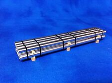 Custom HO Scale 43' Aluminum Pipe Load