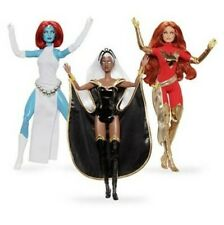 Marvel Barbie Doll Set Of 3 MYSTIQUE STORM PHOENIX 2019 Brand New 80 years