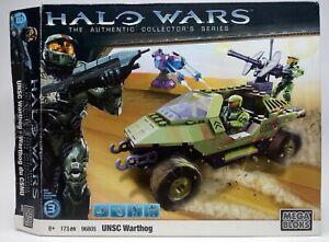 RARE Mega Bloks Halo Wars UNSC Warthog Set 96805 w/ Elite & Spartan