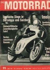 M6711 + Motor-Reparatur YAMAHA YDS 3, Teil 2 + Das MOTORRAD 11/1967