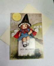 Halloween~Vintage~Fortune Teller~Victorian~Wicca~Samhain~Linen Cardstock~Cards
