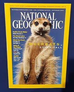 National Geographic Magazine-September 2002-Meerkats Stand Tall-The Great Lakes