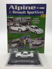 alpine a 110 1300 g salon de paris 1970 1/43 n63/80 alpine & renault sportives