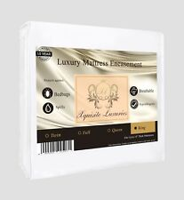IRREGULAR SIZE King Bedbug Zipper Mattress Cover Protector by Xquisite Luxuries