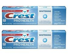 2-PK Crest Whitening Toothpaste Pro-Health Fresh Clean Mint Anticavity EXP 11/17