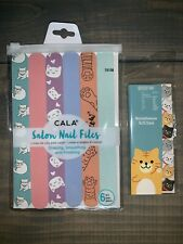 Set Of Cat Lover Gifts Nail Files And Sticky Note Tabs New In Package